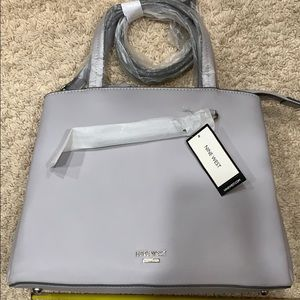 Brand new Nine West cloud grey bag with tags